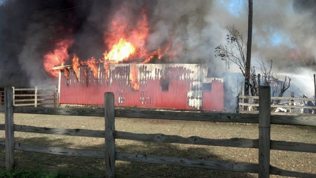 Latest Calls Image -  Barn Fire in Linesville